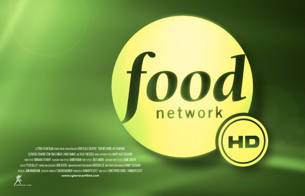 Cyber Scan Films Food Network Hd Campaign