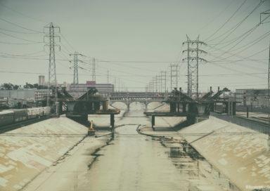 6th Street Viaduct in progress, Los Angeles